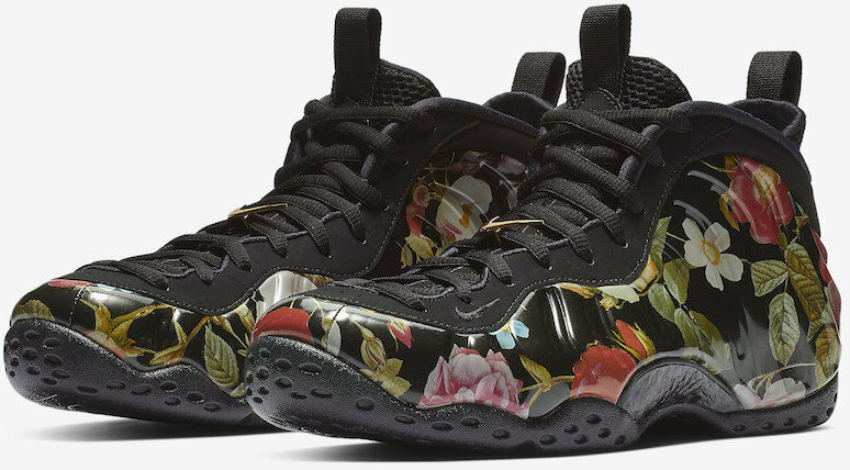 9d15a14bdf037 The Nike Air Foamposite One Floral – Foams With Cool Graphics - the latest  sneakers