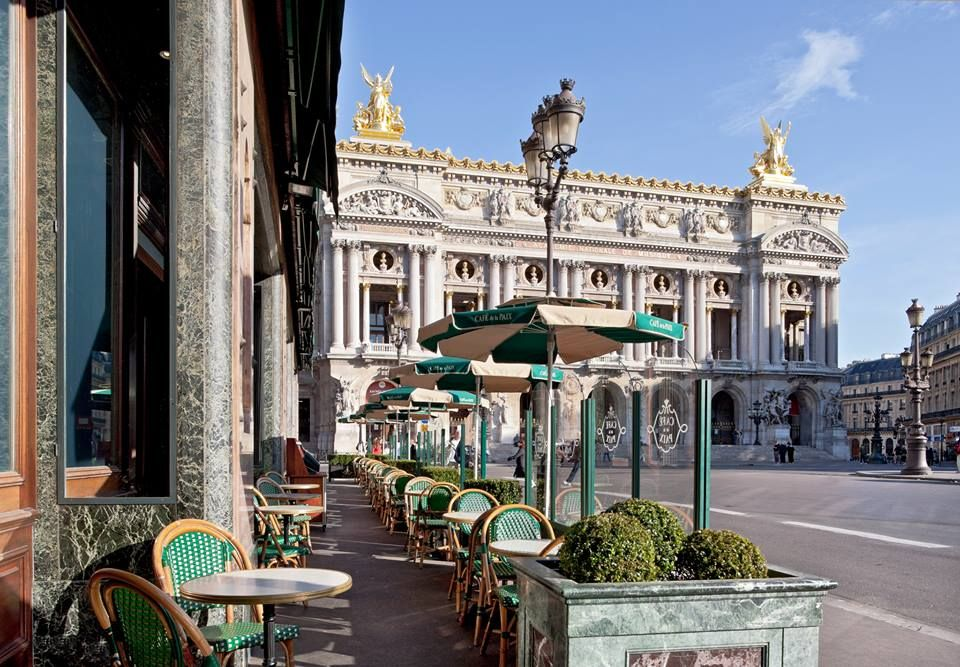 Café de la Paix / Opéra Garnier