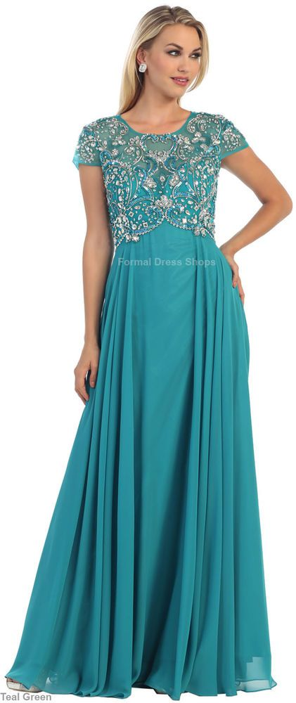 Formal church evening gowns special occasion classy long dresses ...