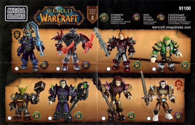 GOBLIN SHREDDER world of warcraft megabloks NEW secret loot WOW