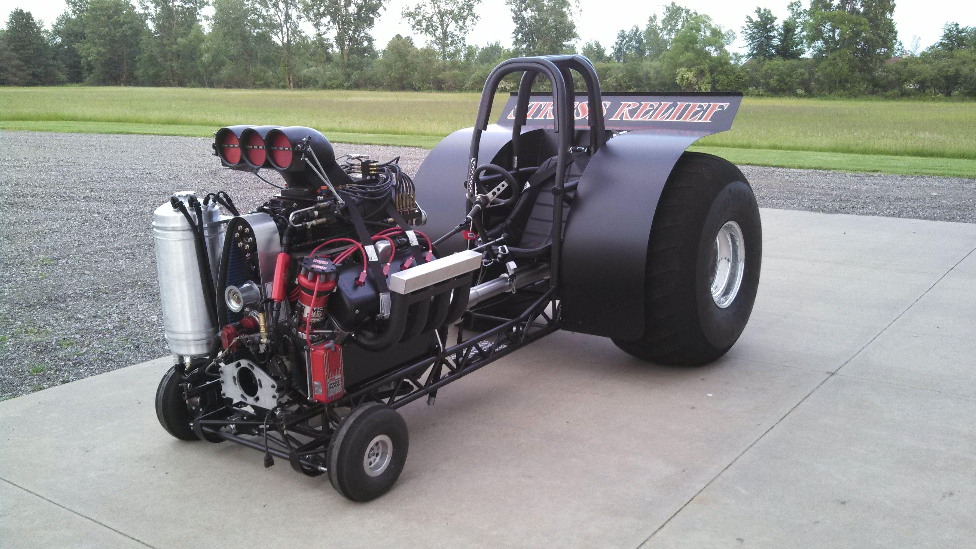 Mini Mod Tractor Pulling : Todd bultman stress relief modified mini ntpa