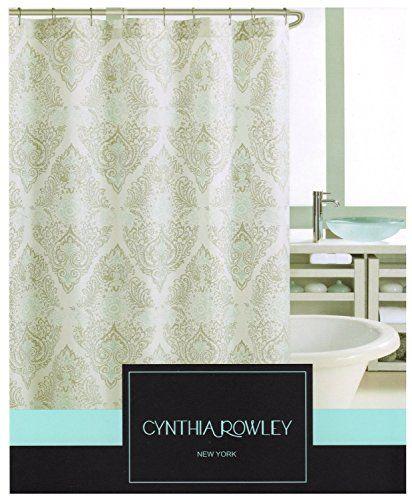 Cynthia Rowley Vintage Medallion Fabric Shower Curtain 72