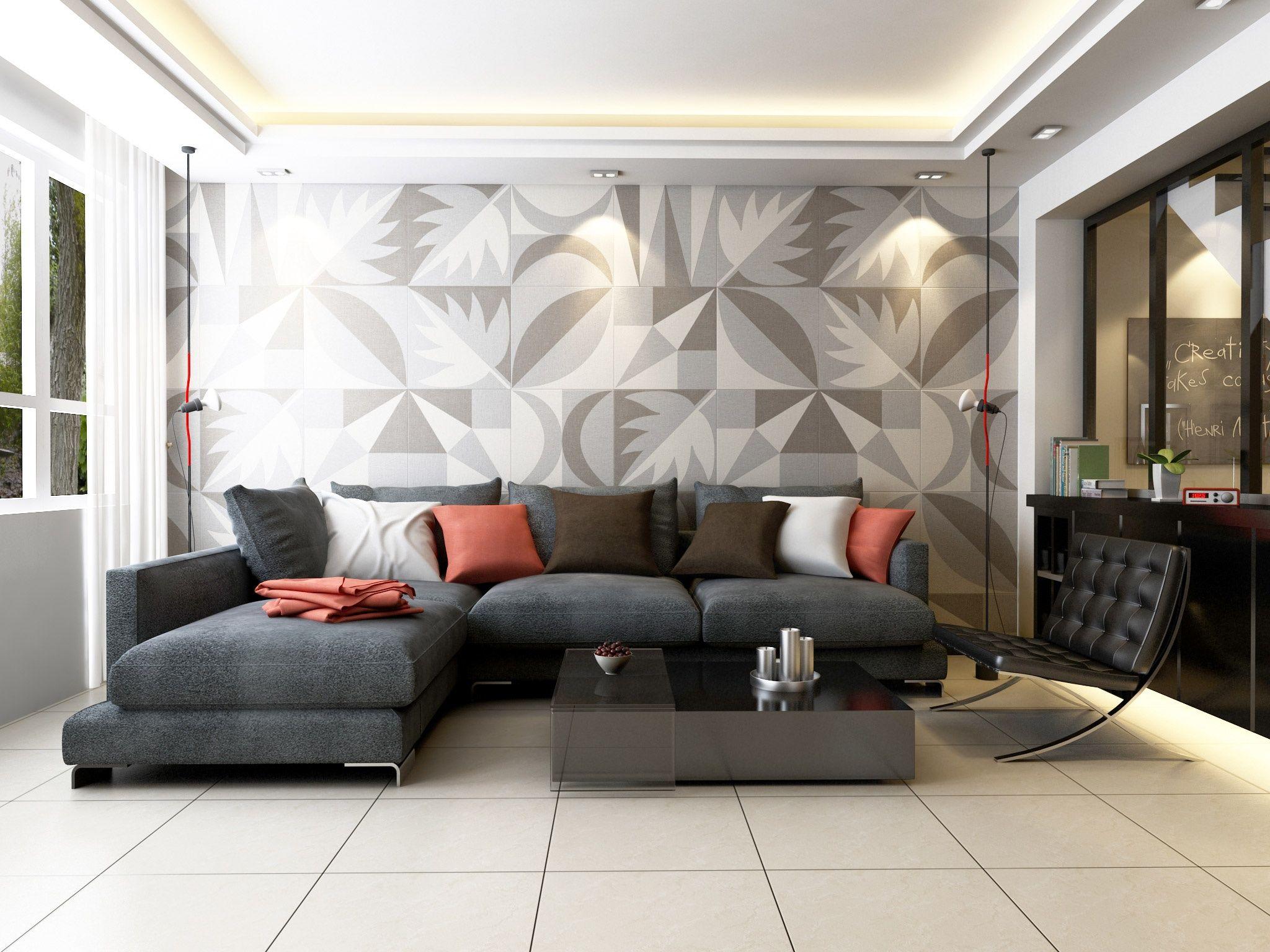 combinar colores claros y oscuros en la sala es un toque moderno sin restar calidez