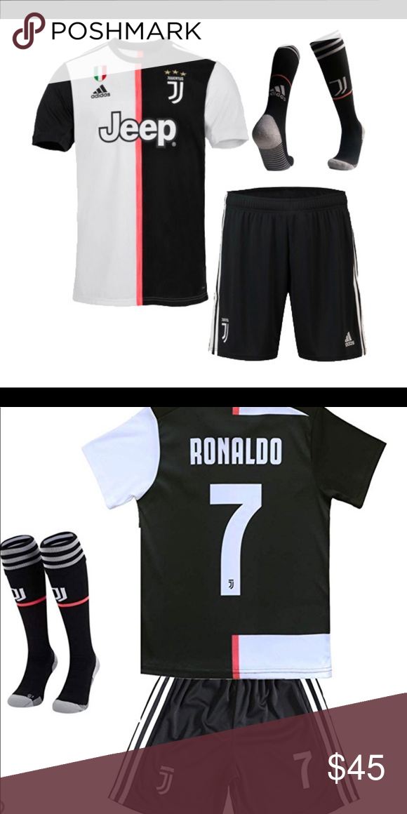 Boy/'s Summer 2 Piece Sport Music Print T-Shirt Top /& Shorts Jersey Set Kit New