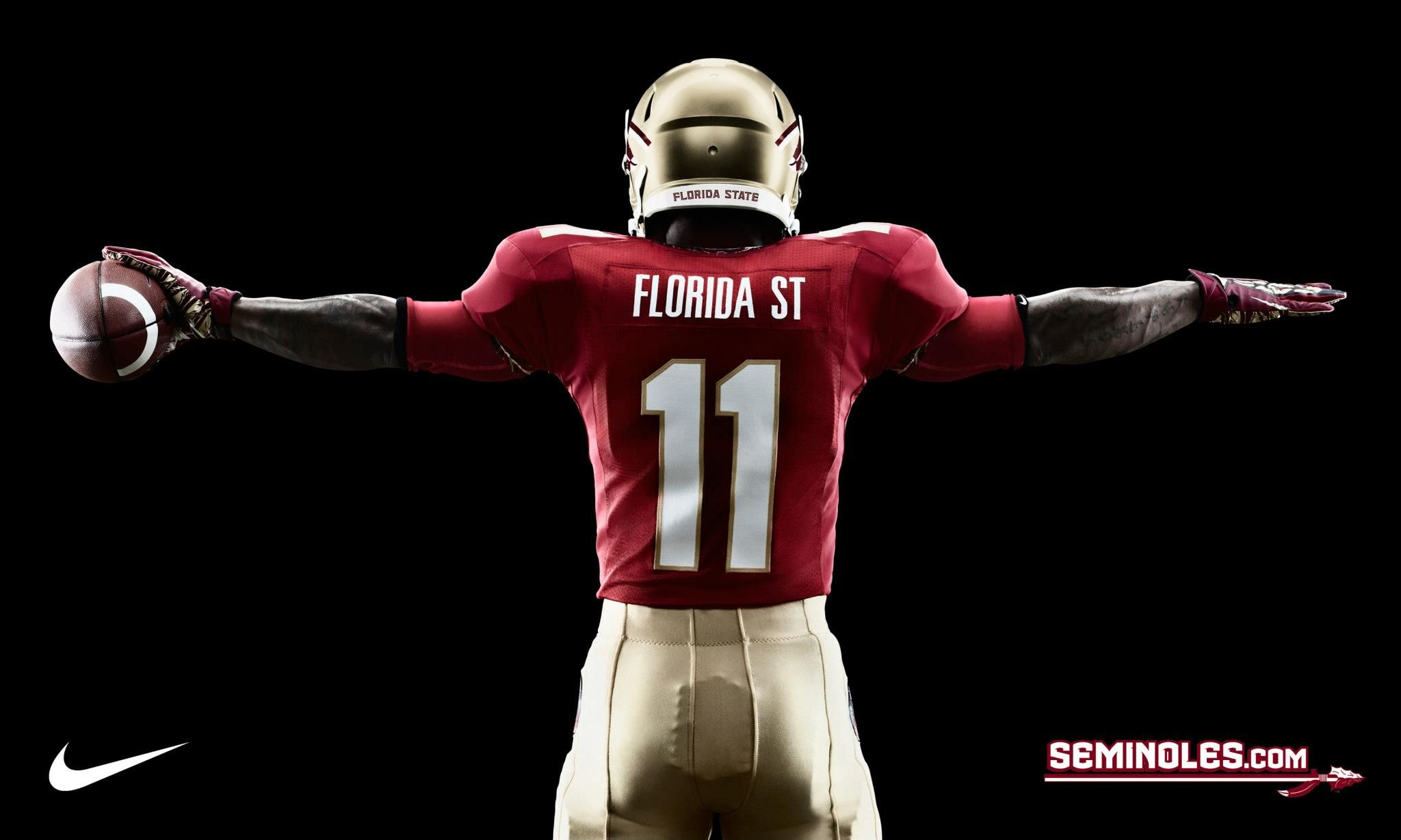 Fsu florida state nike pro combat football uniforms 2012 helmet fsu florida state nike pro combat football uniforms voltagebd Image collections