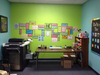 School Counselor Office Decorating Ideas | Our Counseling Office Wall Is  Finished!