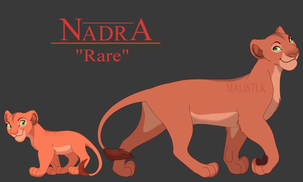 Nadra by MalisTLK | Lion King fan art | Lion king fan art
