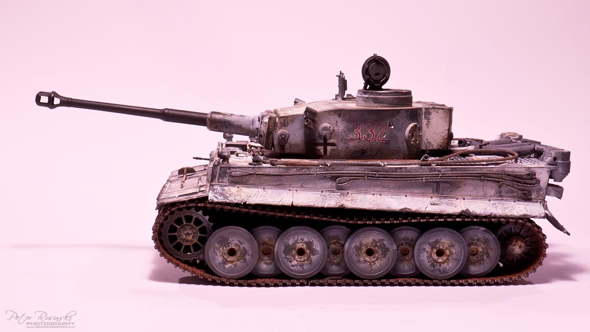 Tiger 1 Early version. Scale 1/35 TAMIYA