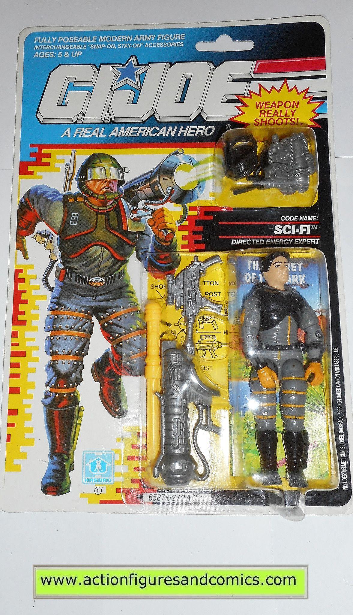 GI Joe Weapon Barricade Backpack 1992 1993 Original Figure Accessory