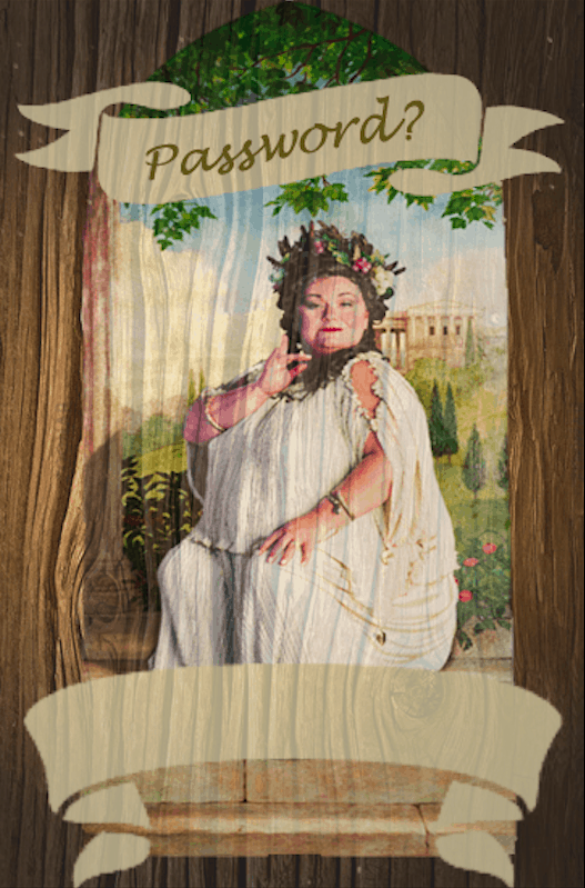 TheFat Ladyin Harry Potter is theportraitwho guarded the entrance toGryffindor ToweratHogwarts Castle. She would ask for a password before she let anyone into the tower. Once the password was given her picture would swing backward so that students could enter through a portrait hole.Use this fun Fat Lady printable to create your own password-protected area for your guests. Maybe at the front entrance to your house or outside the party room.
