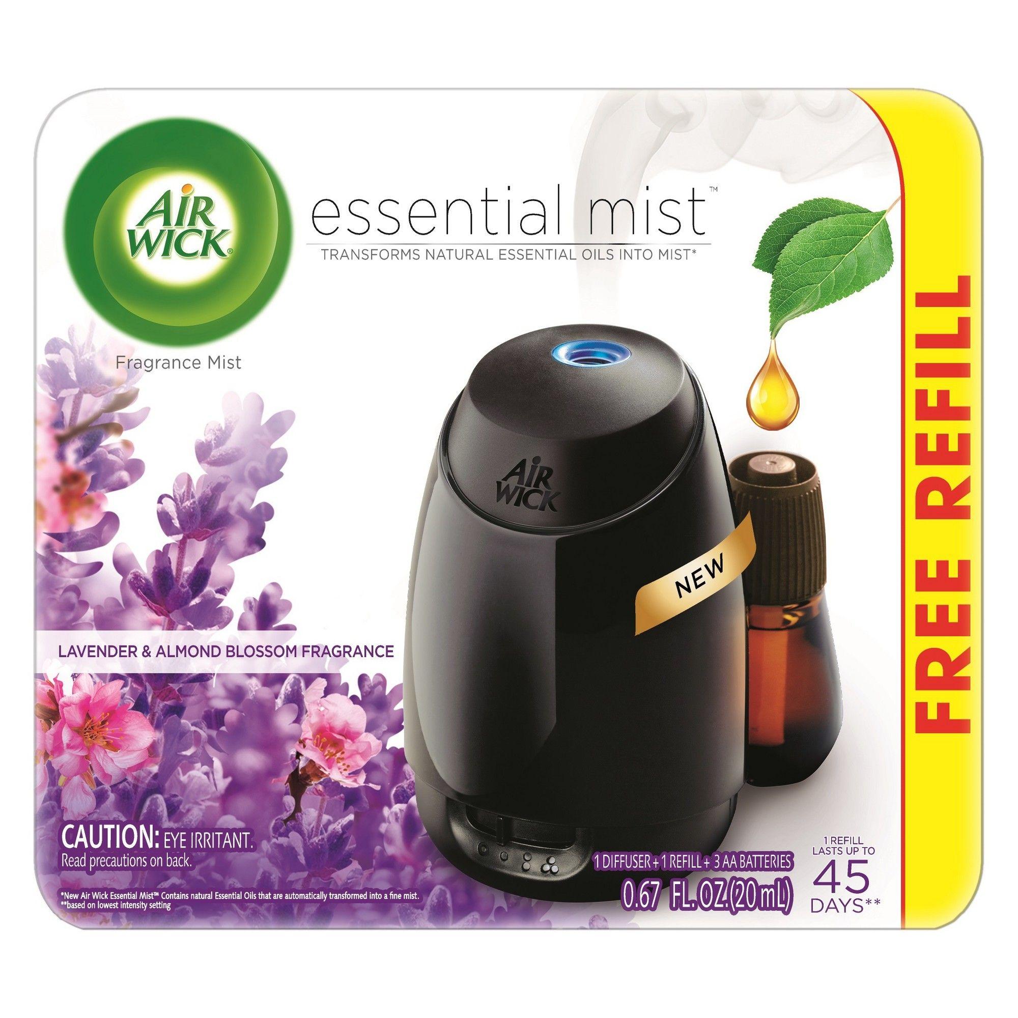 Air Wick Essential Mist Fragrance Oil Diffuser Kit Gadget 1 Refill Fresh Water Breeze Air Freshener Homedecorideas Home Decor Ideas Fragrance Oil Di