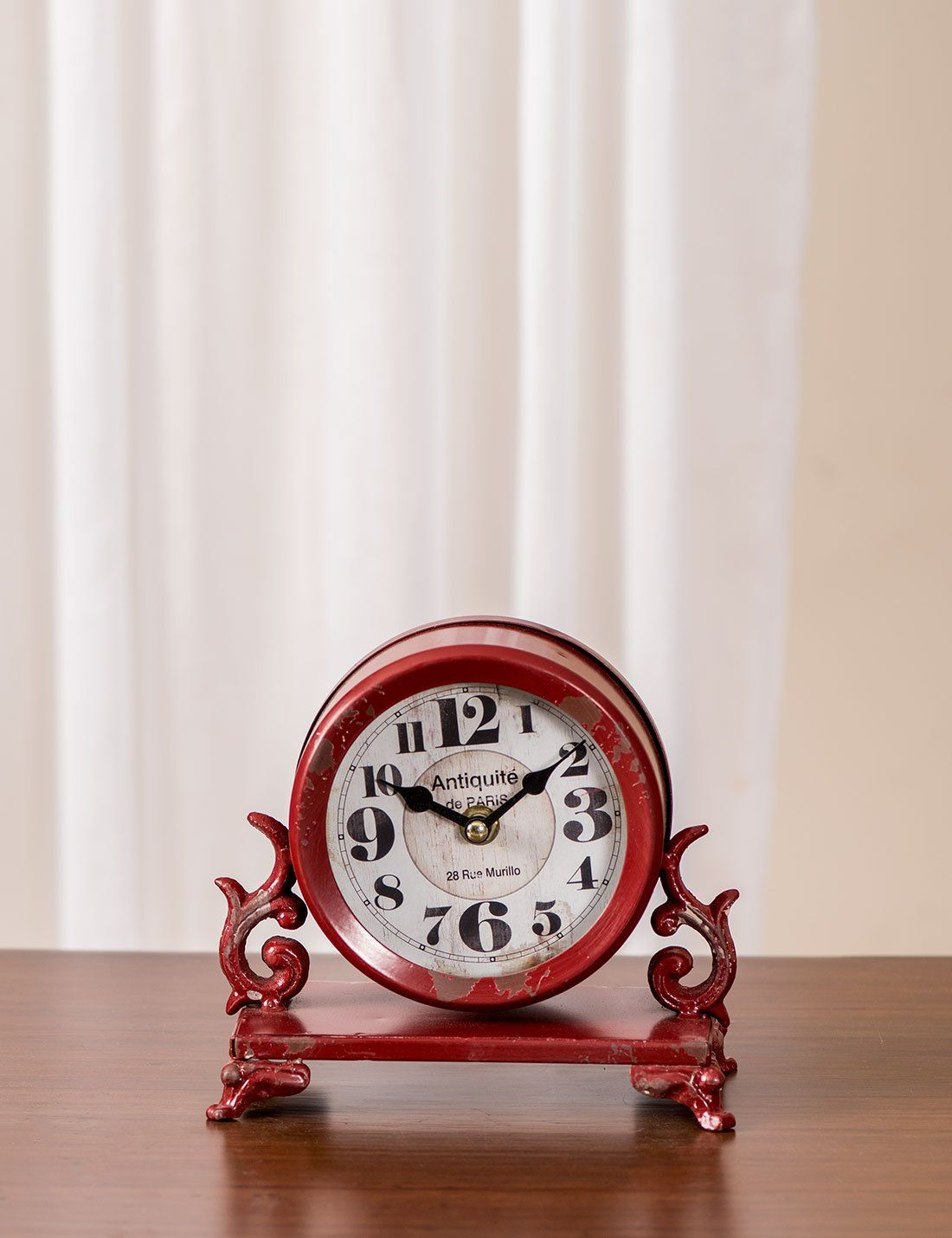 Table Clocks Buy Online Antique Rustic Table Clock Desk Shelf