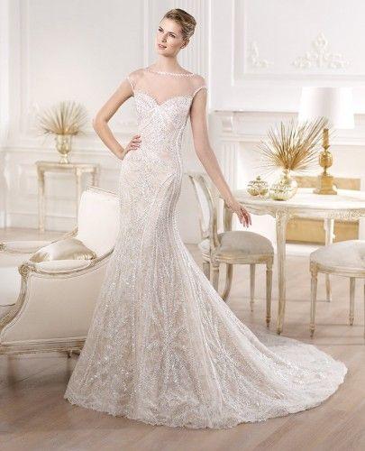 vestido de #noiva coleção #pronovias #atelier 2014 YIRSA #casarcomgosto