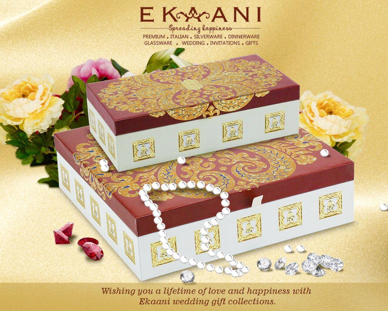 Ekaani Wedding Gift Box Collection Ekaani Wedding Gift Boxes