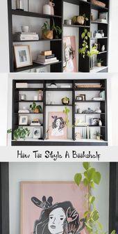 How To Style A Bookshelf How To Style A Bookshelf