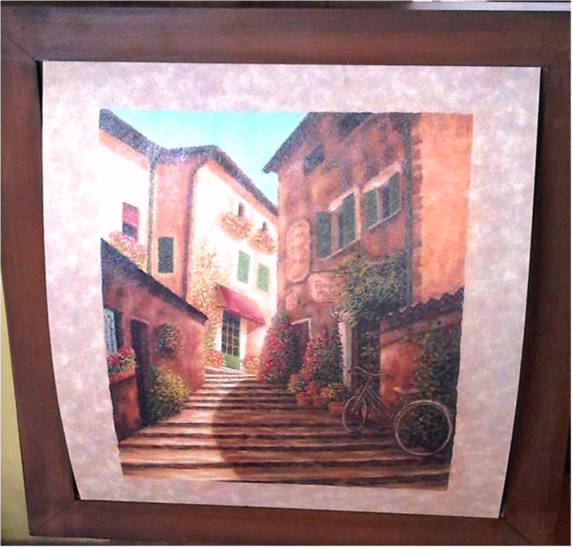 Cuadro mediano estilo country cuadros tridimensionales - Cuadros estilo colonial ...