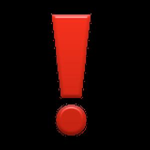heavy exclamation mark symbol emojis pinterest