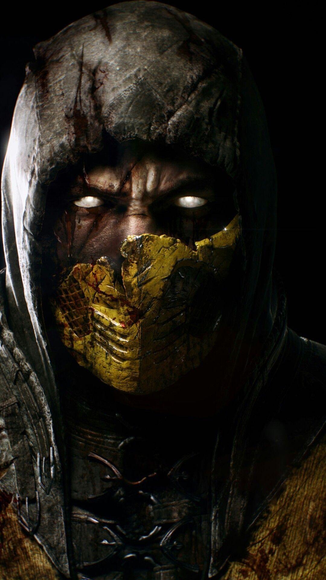 Scorpion Mortal Kombat Phone wallpaper Scorpion mortal