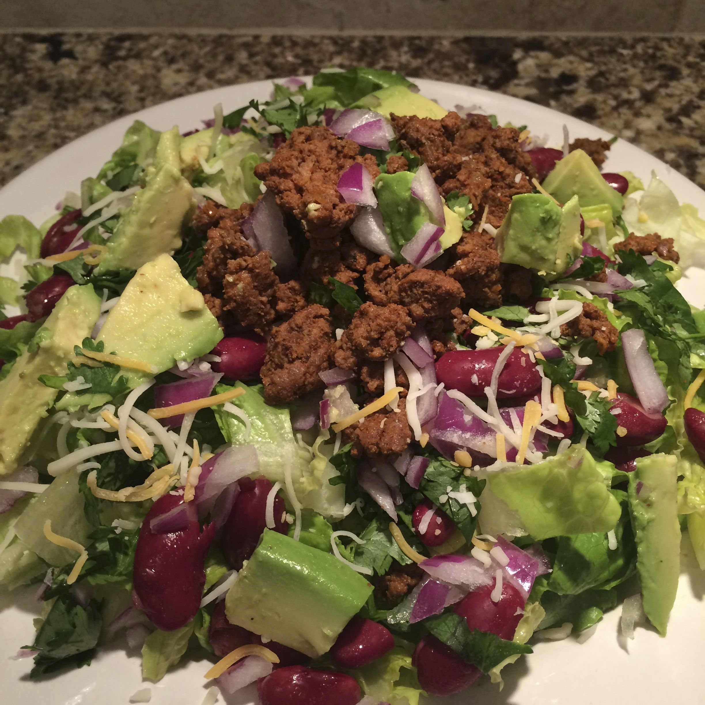 Beef and Bean Salad | PammiesPantry.com