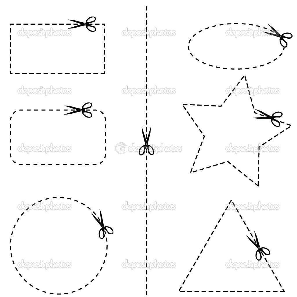 Scissor Cutting Practice Worksheet