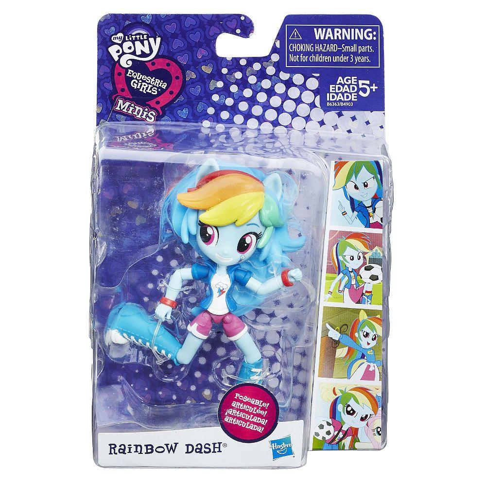 This My Little Pony Equestria Girls Minis Rainbow Dash Doll Is Fun