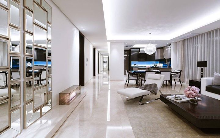 A Three Bedroom Villa In A Luxury High Rise In Seoul South Korea