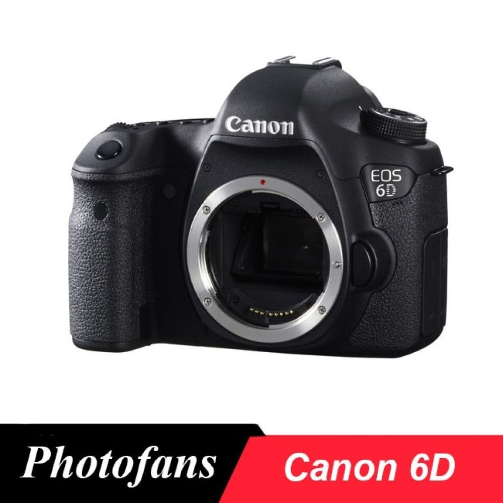Canon 6d Full Frame Dslr Camera 20 2mp Video Wi Fi Body Only Brand New In 2020 With Images Dslr Camera