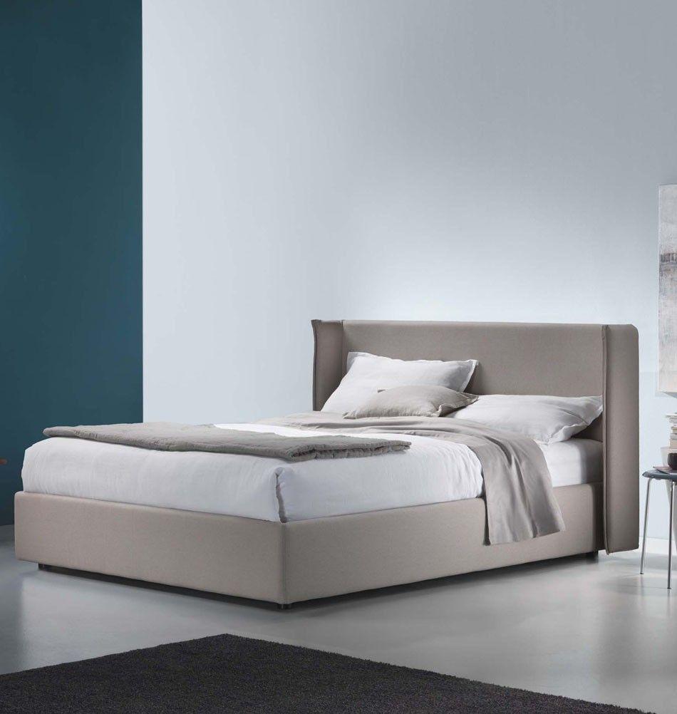 polsterbett kendo beige 180 cm italienisches design. Black Bedroom Furniture Sets. Home Design Ideas