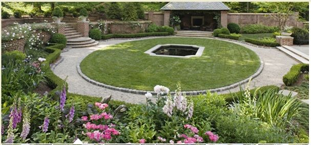 Responding to the site's very challenging, uphill ... on Uphill Backyard Landscaping Ideas id=31135
