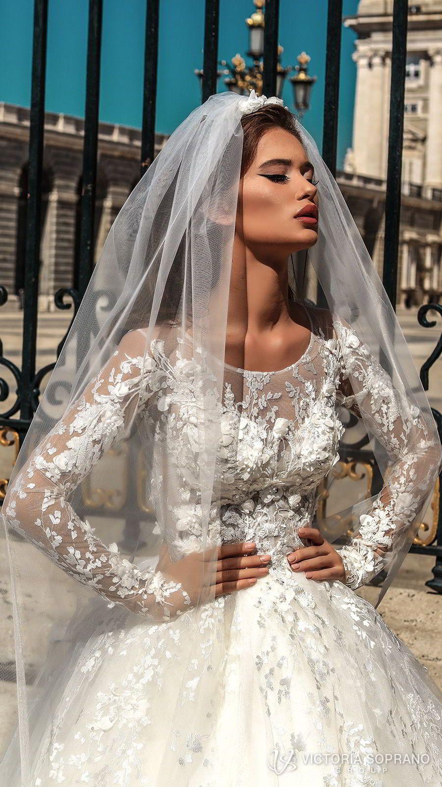 "Victoria Soprano 2018 Wedding Dresses — ""The One"" Bridal Collection ..."