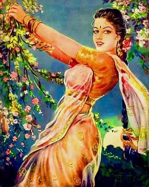 Indian Art Indian Art Female Art Painting Indian Drawing