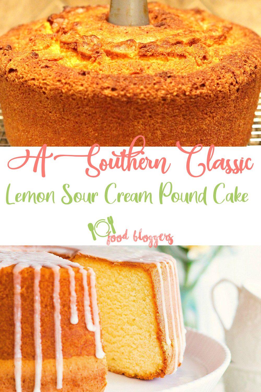 lemon sour cream pound cake using cake mix