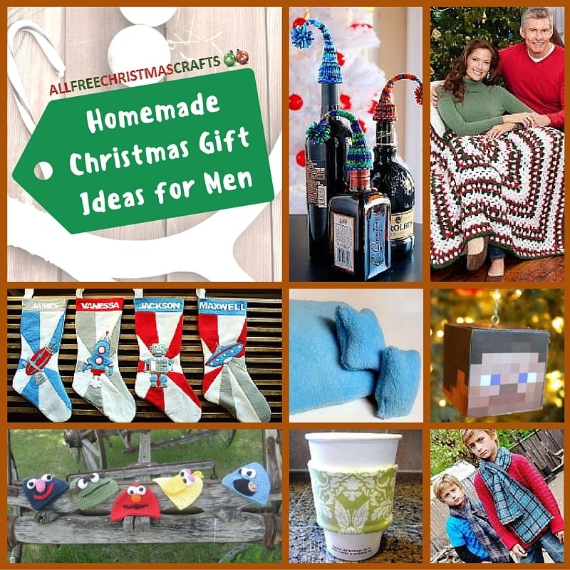 25 Homemade Christmas Gift Ideas for Men | Having trouble finding something  for the man in your life? Check out this collection and you'll find several  ... - 25 Homemade Christmas Gift Ideas For Men Homemade Christmas Gifts