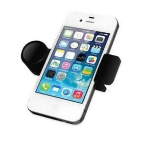 Sharper Image Vent Grip Car Vent Phone Mount Black Phone Holder