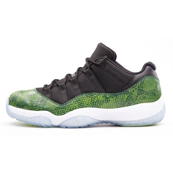 best value eae35 93a6f Aqua Safari Takes Over The Air Jordan 11 Retro Low found on Polyvore
