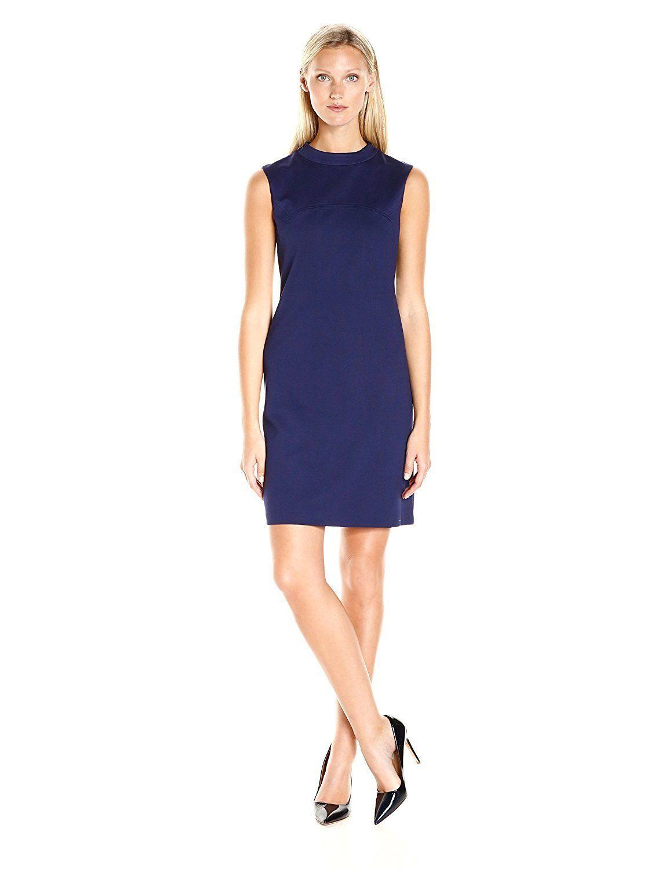 6c1e69c1d56fc Nine West Womens Dresses 106176 Ponte a Line Dress- Choose SZ Color ...