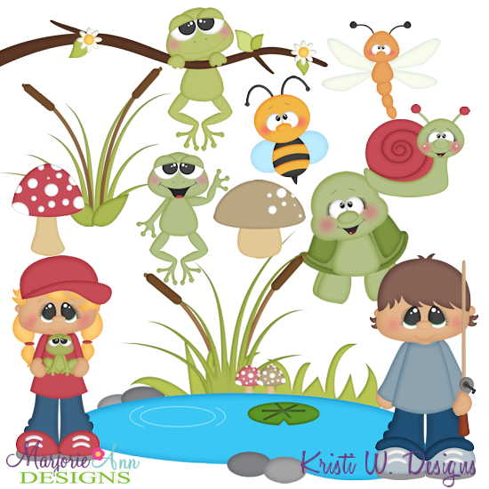 A Day At The Pond SVG-MTC-PNG plus JPG Cut Out Sheet(s) Our sets also include clipart in these formats: PNG & JPG