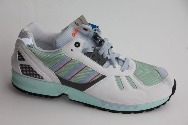 b0e05650b Adidas ZX7000 white mint 44.6 US  10.5 UK 10 ZX 7000 8000 9000 NEW  Consortium OL…