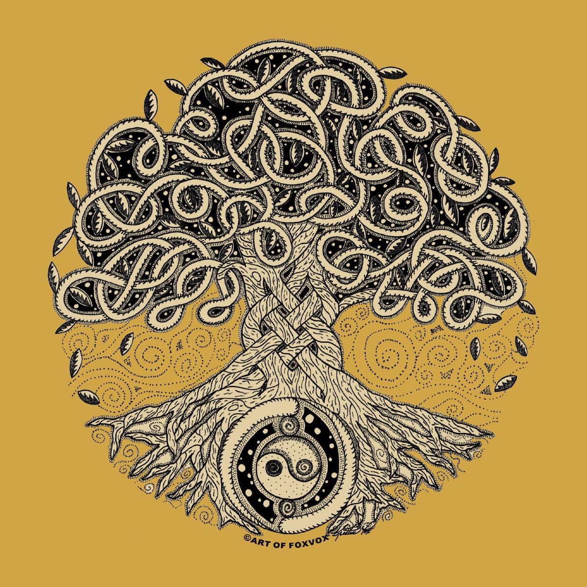 Pin by Sebastien Fournier on Trees   Celtic tree of life, Tree of ...