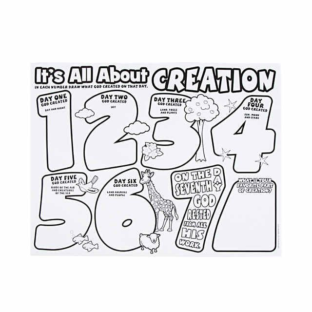 """Color Your Own """"It's All About Creation"""" Posters"""