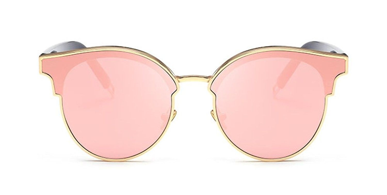 4f3c7a003a Black Cat Eye Sunglasses Round Designer Oversized Reflective ...