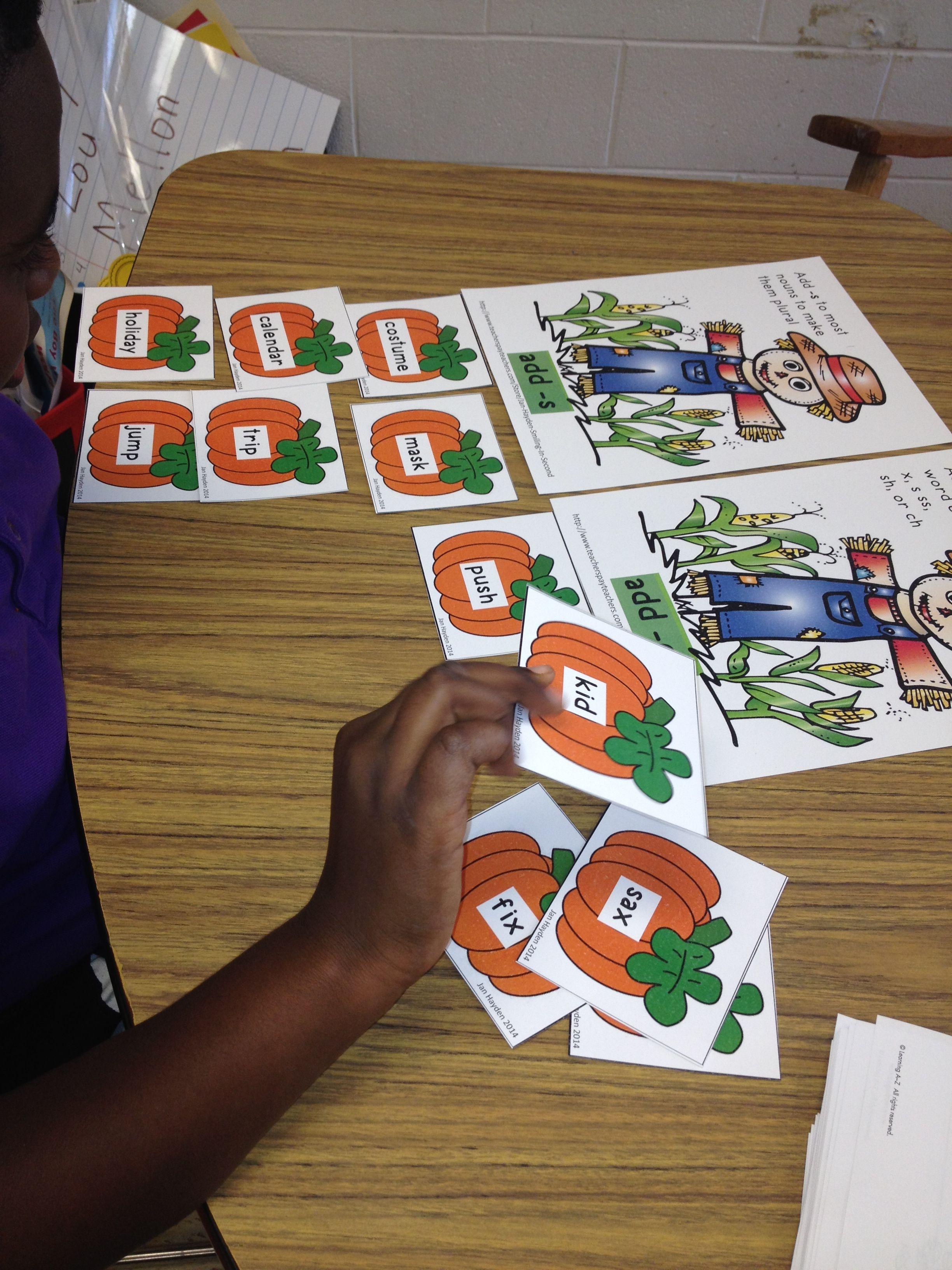 Plural Pumpkins Literacy Center