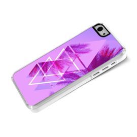 Iphone 5c-Coque-Rigide-Été-Palmiers #iPhone #Coque #Case