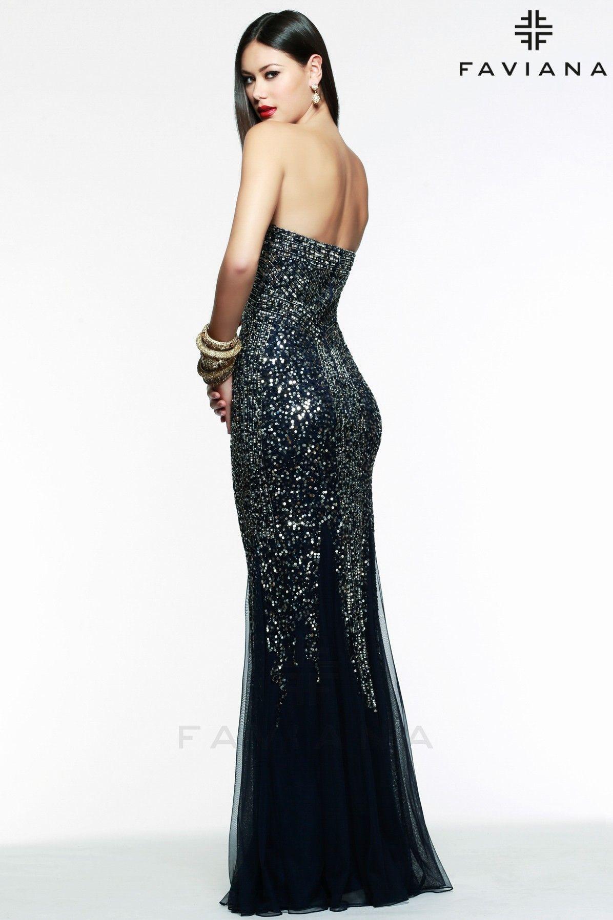 Black u gunmetal sweetheart stretch tulle dress with gold beading