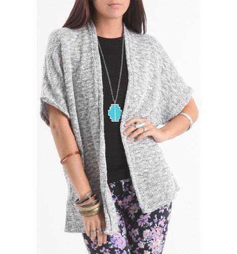 Kirra Womens Short Sleeve Cocoon Cardigan $20.99 (21% OFF)   Free ...