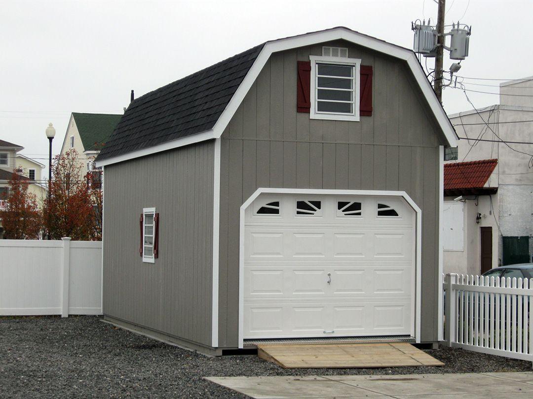 Raised Roof Garage Prefab Garages Horizon Structures Prefab Garages Barn Roof Gambrel Roof