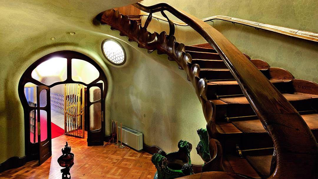 Casa Batlló, entrada a la vivienda de los Batlló - Una ...