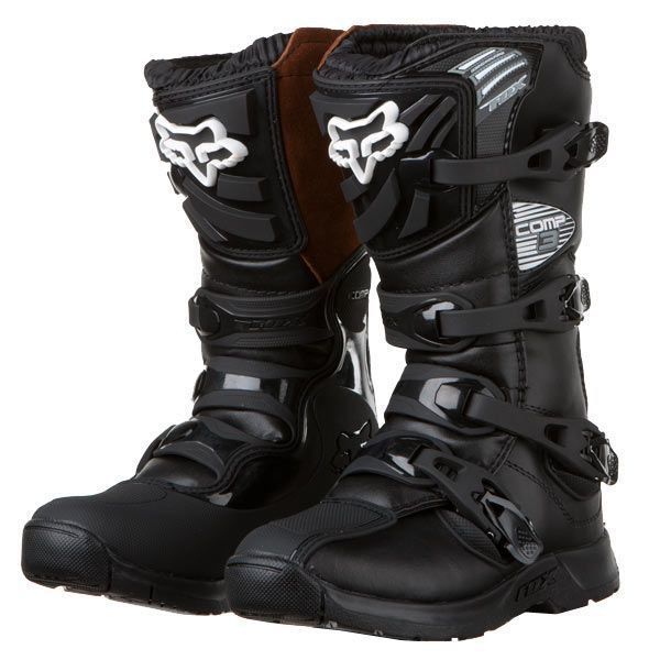 Fox Racing Youth Comp 3 Boots Dirt Bike Motocross Motorcycle