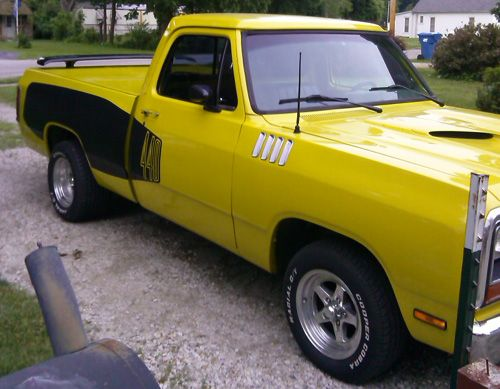 1984 Dodge Ram D100 By Jerry Mcqueen Update Mopars Of The Month Vintage Pickup Trucks Cool Trucks Dodge Trucks