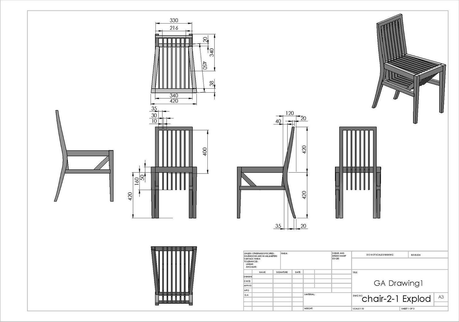 Resultado De Imagen De Chair Technical Drawing Chairdrawing Chair Drawing Art Drawings Simple Technical Drawing